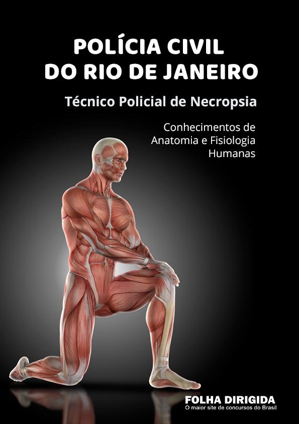 Caderno de Testes: Conhecimentos de Anatomia e Fisiologia Humanas para PC-RJ